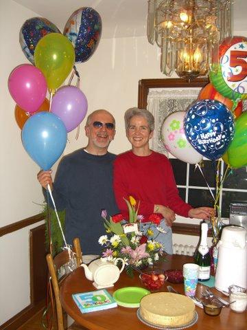 Birthday, Liz and Tim